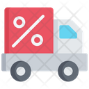 Discounted Delivery Icon