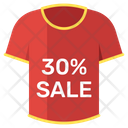 Discounted Shirt Icon
