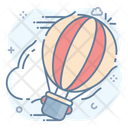 Hot Air Balloon Air Flight Adventure Icon