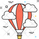 Discover Air Balloon Icon