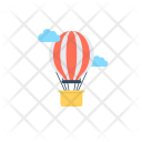 Balloon Air Discovery Icon