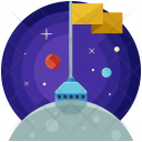 Discovery Planet Galaxy Icon