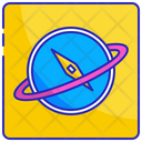 Discovery Travel Journey Icon