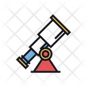 Discovery Astronomy Telescope Icon
