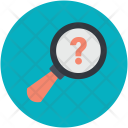 Discovery Exploration Magnifier Icon