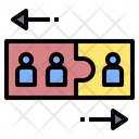 Discrimination Conflict Bully Icon