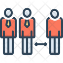 Discrimination Nepotism Differentiation Icon
