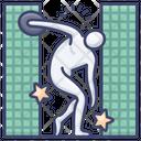 Discus throw Icon