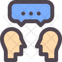 Discuss Chat Communication Icon