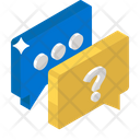 Faq Communication Questions And Answers Frequently Ask Questions Icon
