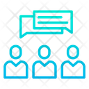 Client Communicationtalking Talk Icon