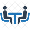 Discussion Business Meeting Icon
