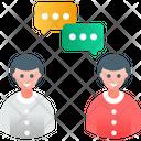 Collaboration Discussion Talk Icon