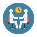 Discussion Meeting Interview Icon