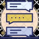 Forum Speech Bubbles Communication Icon
