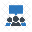 Discussion Chat Group Icon