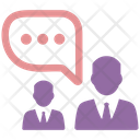 Discussion Communication Meeting Icon
