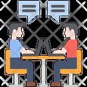 Brainstorming Meeting Creative Icon