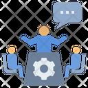 Brainstorming Discussion Explain Icon