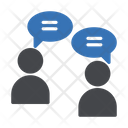 Chat Discussion Meeting Icon
