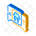 Conflict Discussion Isometric Icon