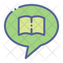 Chat Forum Book Icon