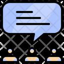 Discussion Concept Creative Icon