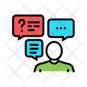 Discussion Questions Answers Icon