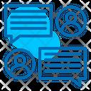 Discussion Chatting Talk Icon