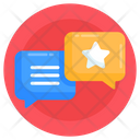 Discussion Favourite Chat Loyalty Chat Icon
