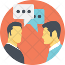 Discussion Talking Dialogue Icon