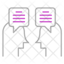 Discussion Communication Technology Icon