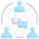 Discussion Teamwork Icon