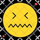 Disguested Emoticon Face Icon