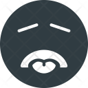 Disgusted Emoji Face Icon