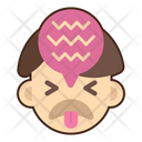 Disgusted Face Emoji Icon