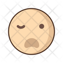 Disgusted Emoji Amazed Icon