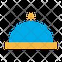 Cloche Food Restaurant Icon