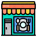 Dish Food Store Icon