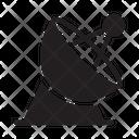 Satellite Dish Antenna Icon