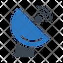 Dish Satellite Antenna Icon