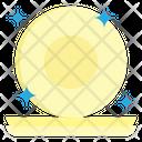 Dish Restaurant Clean Icon