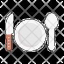 Dish Restaurant Fork Icon