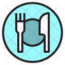 Dish Knife Fork Icon