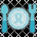Charity Donation Dish Icon