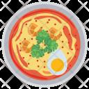 Shrimp Egg Breakfast Icon