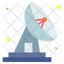 Dish Satellite Astronomy Icon