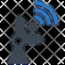 Dish Satellite Network Icon