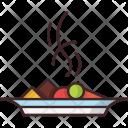 Dish Food Fruit Icon