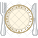 Dish Cutlery Dinner Icon